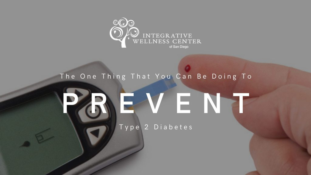 You have the ability to prevent and reverse diabetes